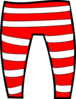 The Elf Pants Clip Art