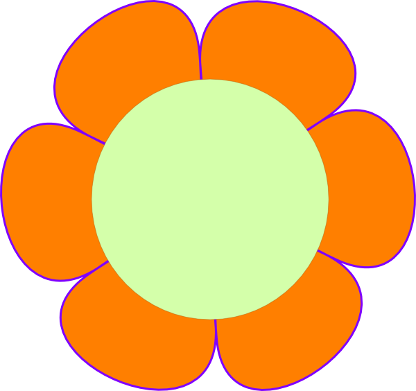 Flower Clip Art at Clker.com - vector clip art online, royalty ...