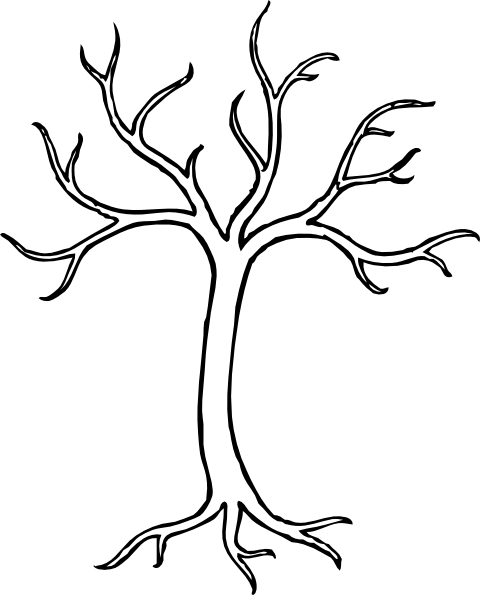 Winter Tree Clip Art at Clker.com - vector clip art online, royalty ...