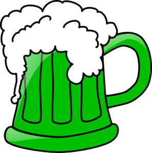 green beer mug clip art at clker com vector clip art online rh clker com beer mug clipart clipart beer glasses