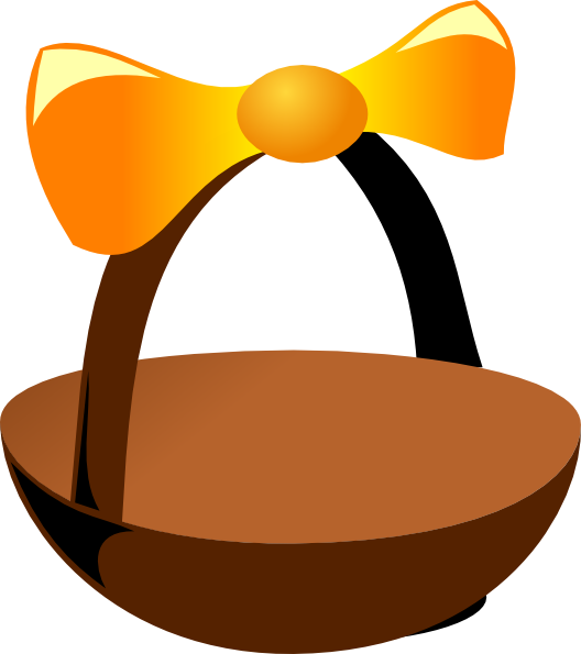 clip art for easter baskets - photo #31