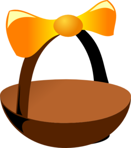 Empty Easter Basket 2 Clip Art