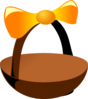 Empty Easter Basket 2 Clip Art