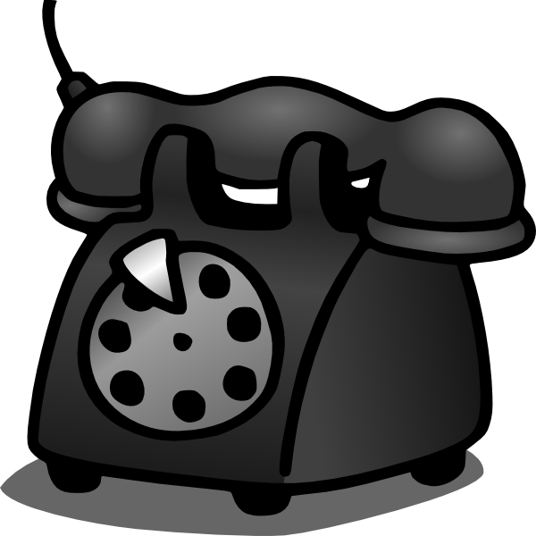 vintage telephone clipart - photo #41