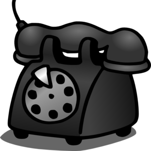 Old Telephone Clip Art