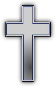 Simple Cross Clip Art