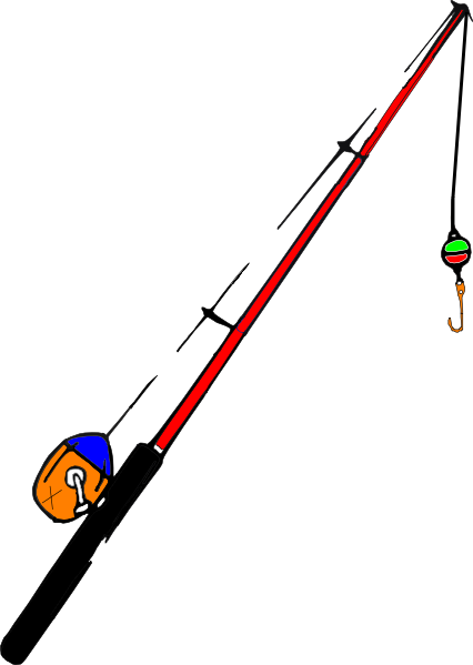 Fishing Pole Fsf Clip Art at Clker.com - vector clip art ...