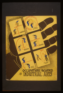 Occupations Related To Industrial Arts  / Designed By Blanche L. Anish. Image