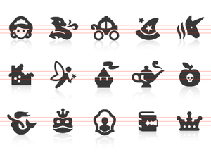 0138 Fairy Tale Icons Image