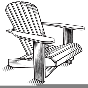 Adirondack Chair Drawing   Free Images at Clker.com - vector clip ...