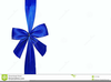 Christmas Present Bow Clipart Image