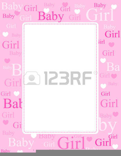 Free Girl Baby Shower Clipart Free Images At Clker Com Vector