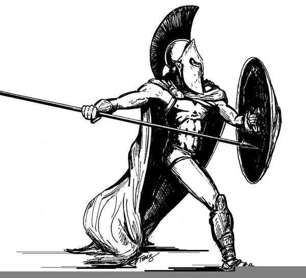Persian Soldier Clipart Free Images At Clker Com