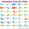 Messenger Icons For Vista Image