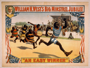 William H. West S Big Minstrel Jubilee Image