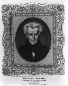 Andrew Jackson, 7th President Of The United States  / On Stone By A. Newsam ; P.s. Duval, Lith. Philada. Image