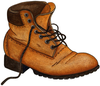 Hiking Boot Clipart Image