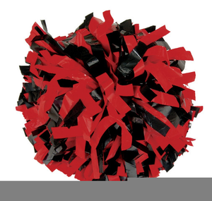 cheer pom poms clipart   free images at clker - vector clip art