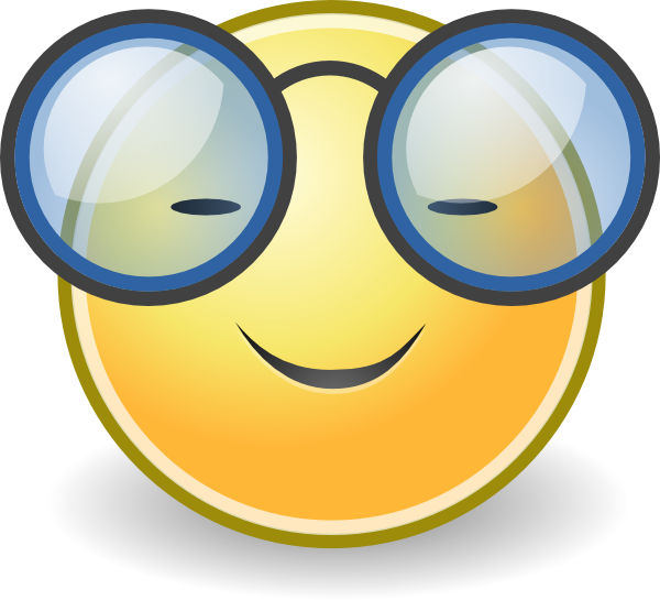 face glasses clip art at clker com vector clip art online royalty rh clker com smiley face with glasses clip art happy face with glasses clip art