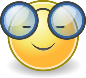 Face Glasses Clip Art
