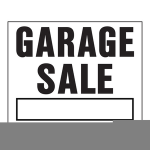 free garage sale sign clipart free images at clker com vector