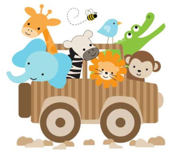 Jungle Nursery Clipart | Free Images at Clker.com - vector ...