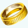 Gold Ring Icon Image