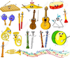 Musical Instruments Free Cliparts Image