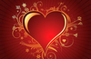 Lovely Heart Vector Image