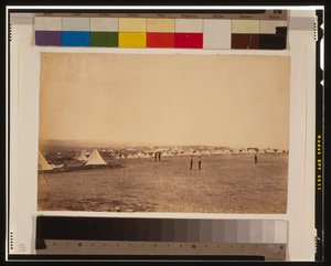 Looking Towards St. George S Monastery, Tents Of The 4th Division In The Foreground Image