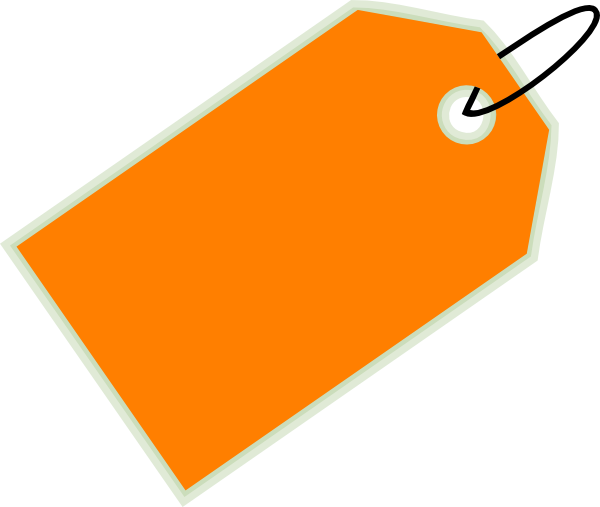 Orange Sale Tag Clip Art At Clker