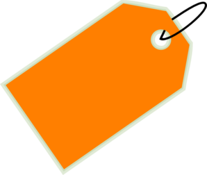 orange sale tag clip art at clker com vector clip art online rh clker com tag clipart free tag clipart black and white