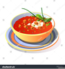 Bowl Of Chili Clipart Free Image