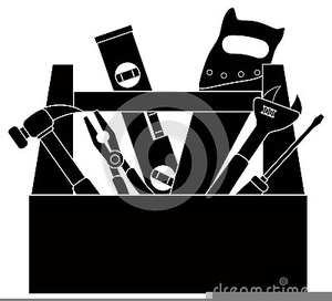 Toolbox Clipart Black And White | Free Images at Clker.com ...