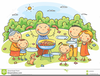 Free Clipart For Family Picnic Image