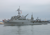 Uss Dubuque (lpd 8) Pulls Into San Diego Harbor Image