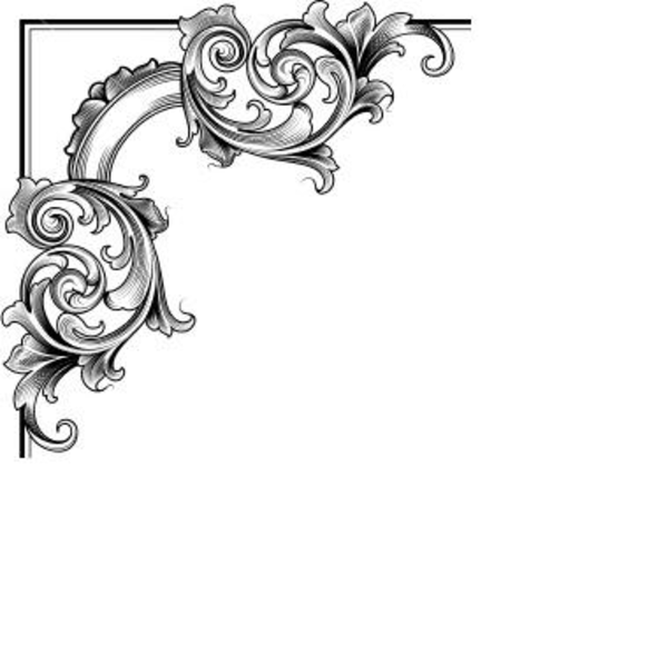 Decorative Corner | Free Images at Clker.com - vector clip art ...