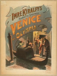 Imre Kiralfy S Romantic Spectacle, Venice At Olympia Image