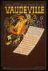 Federal Wpa Variety Theatre Presents Vaudeville 9 Big Acts : Comedy, Singing, Dancing. Image