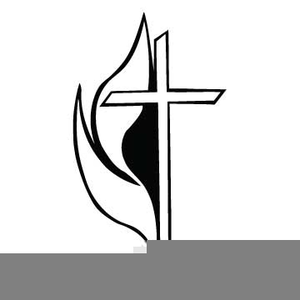 methodist cross and flame clipart free images at clker com rh clker com