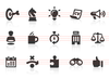 0090 Business Strategy Icons Image