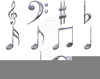 Free Online Clipart Music Notes Image