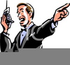 Clipart Wrestling Announcer Clipart Image