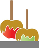 Free Clipart Caramel Apples Image