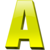 Letter A Icon 1 Image