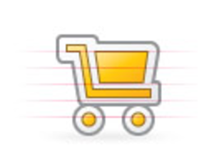 Origami Shopping Cart Image