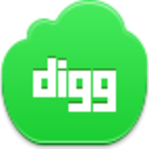 Free Green Cloud Digg Image