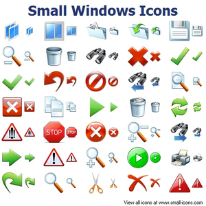 Small Windows Icons Image