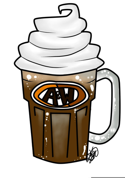 free root beer float clipart free images at clker com vector rh clker com root beer float clip art black and white