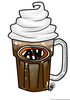 Free Root Beer Float Clipart Image